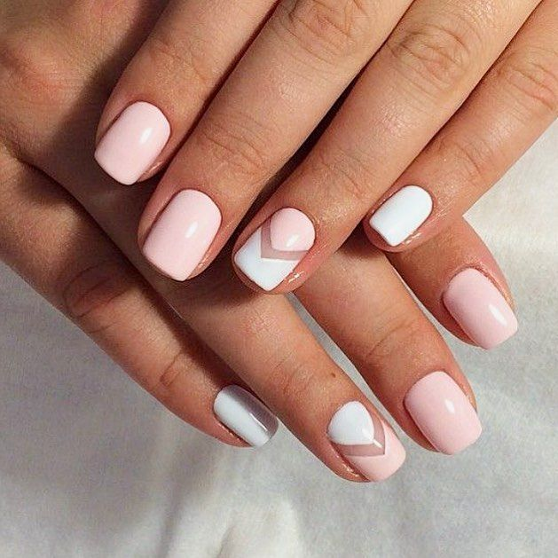 """232 Likes, 13 Comments - Say It With Polish (@sayitwithpolish) on Instagram: """"Easy nail art that packs a powerful punch. Get the look with @sayitwithpolish's 'On Cloud Nine'…"""""""
