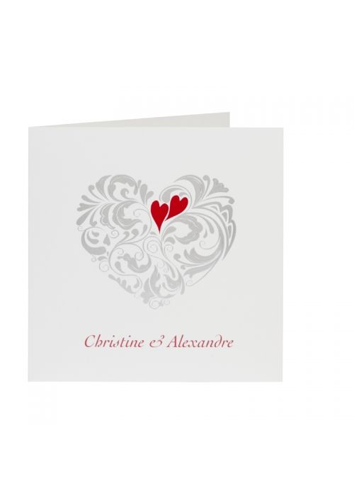 faire part 104005 e buromac la vie en rose 2014 herve - Herve Mariage Paris