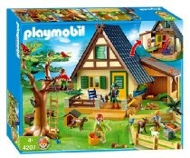 playmobil forest lodge. love my playmobil doll house that i still have
