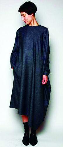 Концептуальное платье-балахон | Шкатулка