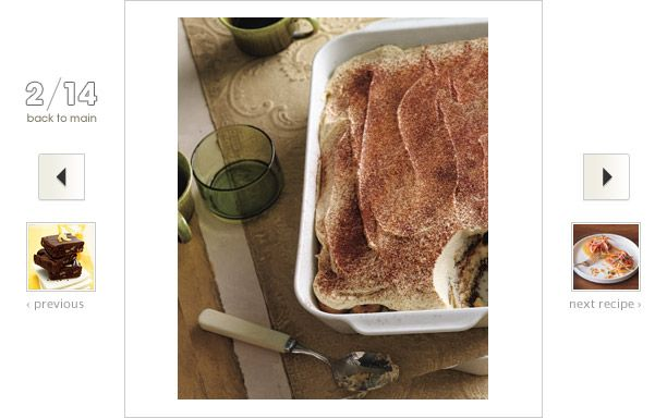 Tiramisu Recipe: The Italians knew what they were doing when they mixed strong #coffee with the light yet rich custardy zabaglione.