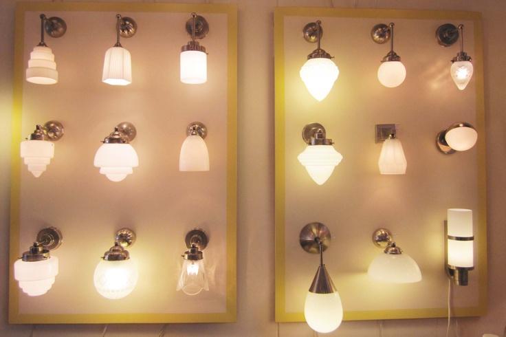 art deco wandlampen, lampen Gispenstijl jaren 20,30
