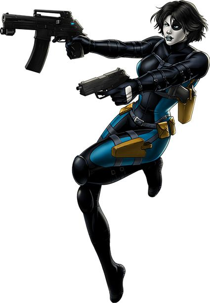 Domino - Marvel Comics - X-Force - Neena Thurman