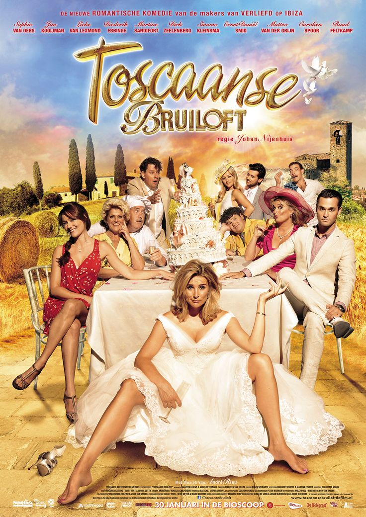 Toscaanse bruiloft
