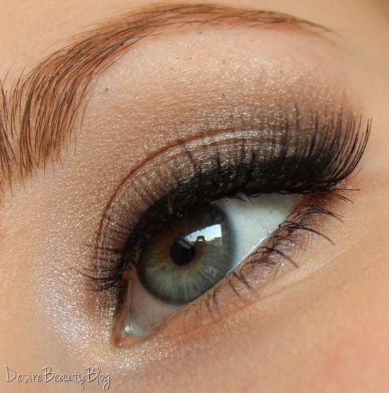 Too Faced Boudoir Eyes Vs Natural Eye
