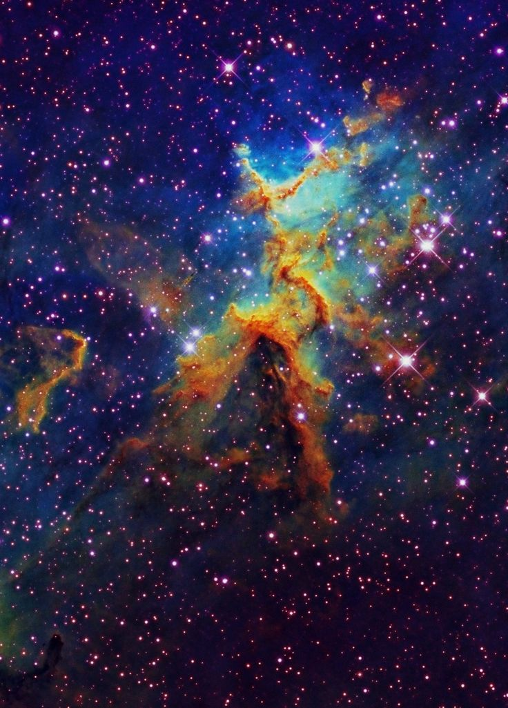 nebula is totally beautiful. its truely a work of art painted by god's hand