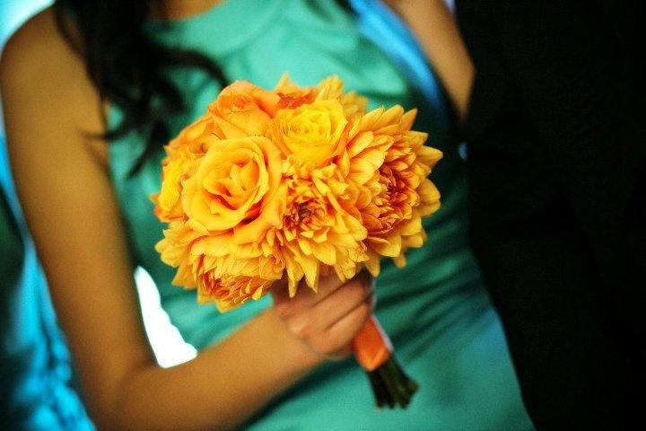 Wedding -Blue and Orange