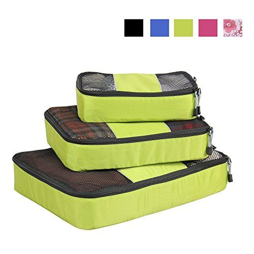 Nuova offerta in #bagaglio : Veevan Cubi di Imballaggio Organizer da Viaggio - Set di 3(Verde) a soli 17.84 EUR. Affrettati! hai tempo solo fino a 2016-08-29 23:45:00