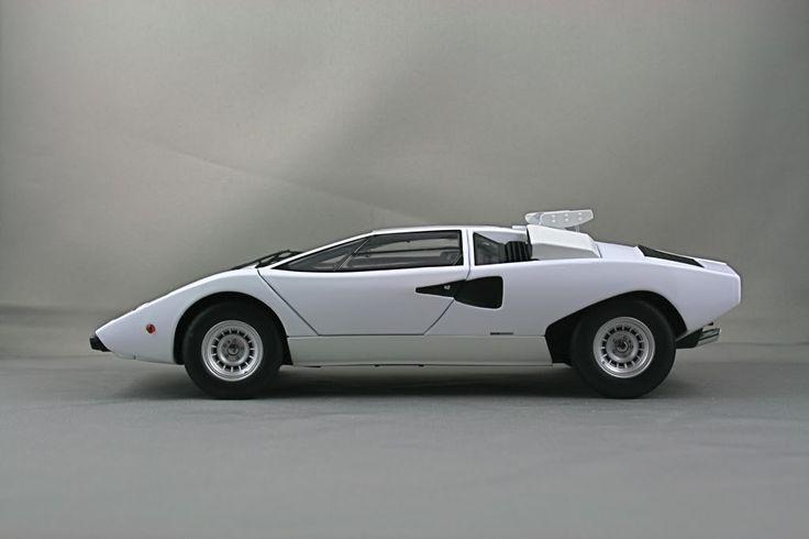 1976 Lamborghini Countach Lp400 Side View Image Rubber