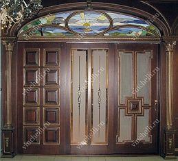 Межкомнатные арочные двери на заказ | арочные двери из дерева от компании Винчелли