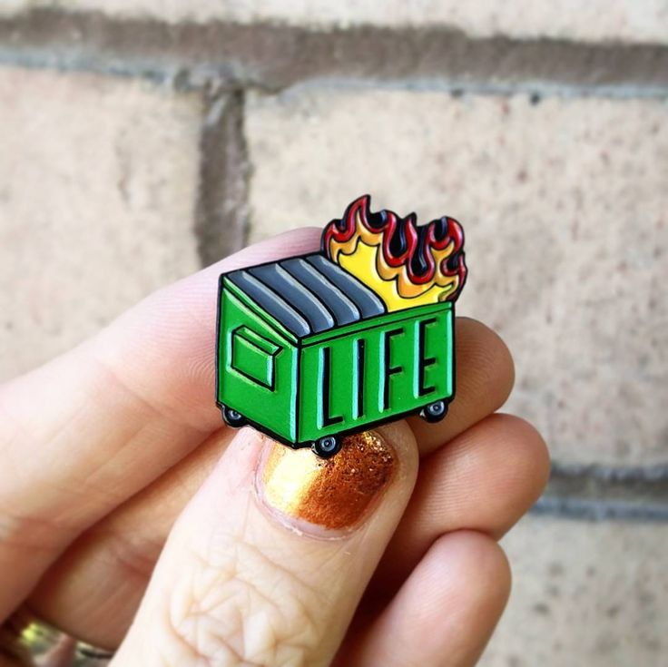 Our Dumpster Fire pin is our most popular yet! Buy it now at hellacoolkids.com or click the link in our profile @hellacoolkids before they are gone gone gone! . . . . #enamelpins #pingame #pingamestrong #pincollector #pincommunity #life #dumpsterfire #garbagepeople #garbage #dumpster #lifesucks #fire #onfire #firefighter #lifestyle #flair #losangeles #newyork #seattle #portland #texas #florida #california