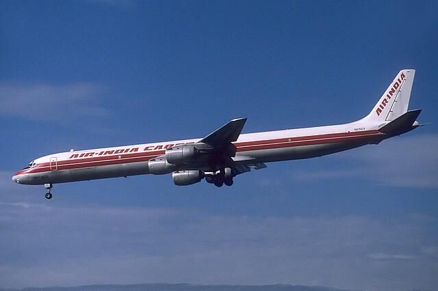 Air India Cargo, old fleet - Douglas DC-8F freighter