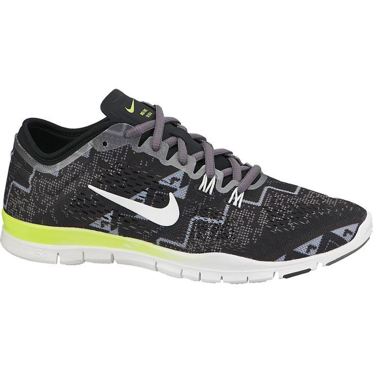 Nike Women's Free 5.0 TR FIT PRT 4 Training Shoe - Grey/White | DICK'S