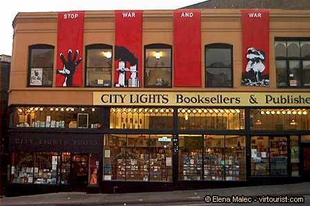 """Such a cool book store in San Francisco.  The original """"beat poets"""" of the 50s (beatniks) hung out here."""