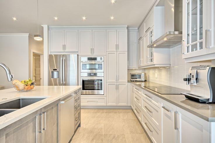 Armoires de cuisines - Créa-Nova - Centre de design - Mirabel
