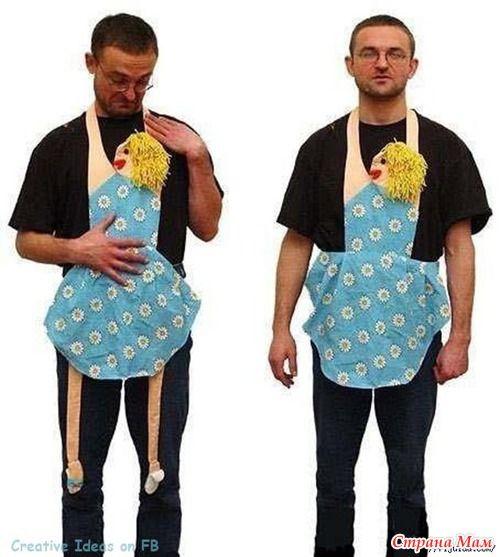 what a hilarious apron! hahaha!