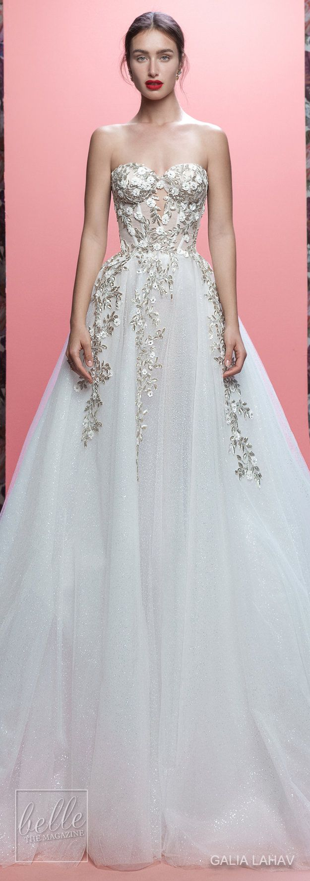 Galia Lahav Couture Bridal Spring Collection 2017: Queen of Hearts