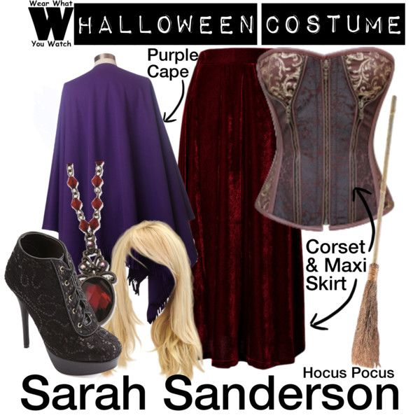 A Halloween Costume how-to inspired by Sarah Jessica Parker in 1993's Hocus Pocus.