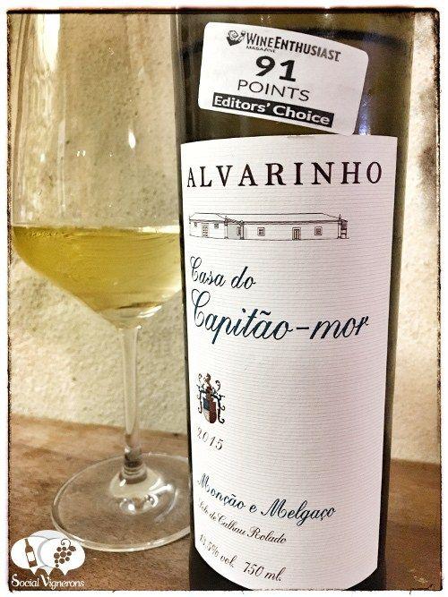 Score 87/100 Wine review, tasting notes, rating of Quinta de Paços Casa do Capitão-Mor Alvarinho. Description of aroma, palate, flavors. Join the experience.