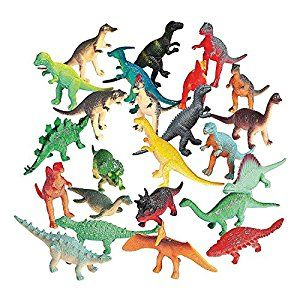 Vinyl Mini Dinosaurs (72 count) by Fun Express for $7.85 http://amzn.to/2lohYfA