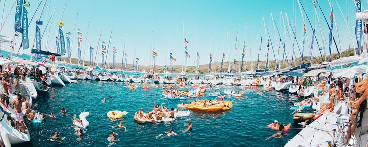 The-yacht-week1  - The Yacht Week: een week lang varen een feesten - Manify.nl