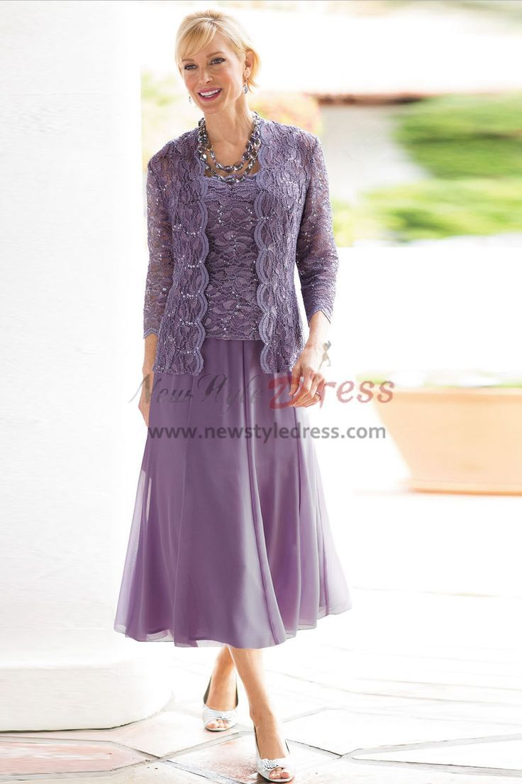 Elegant Lavender Mother Of The Bride Dresses With Jacket A Perfect Dress For A Mother Of The Bride Suits Mother Of Bride Outfits Mother Of The Bride Dresses