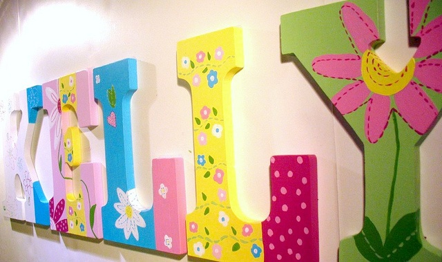 Best 100+ Decorating with Wall Letters images on Pinterest | Child ...