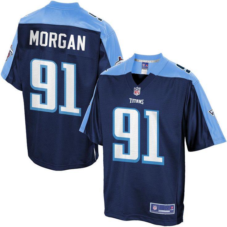 Men's Tennessee Titans Derrick Morgan NFL Pro Line Big & Tall Team Color Jersey
