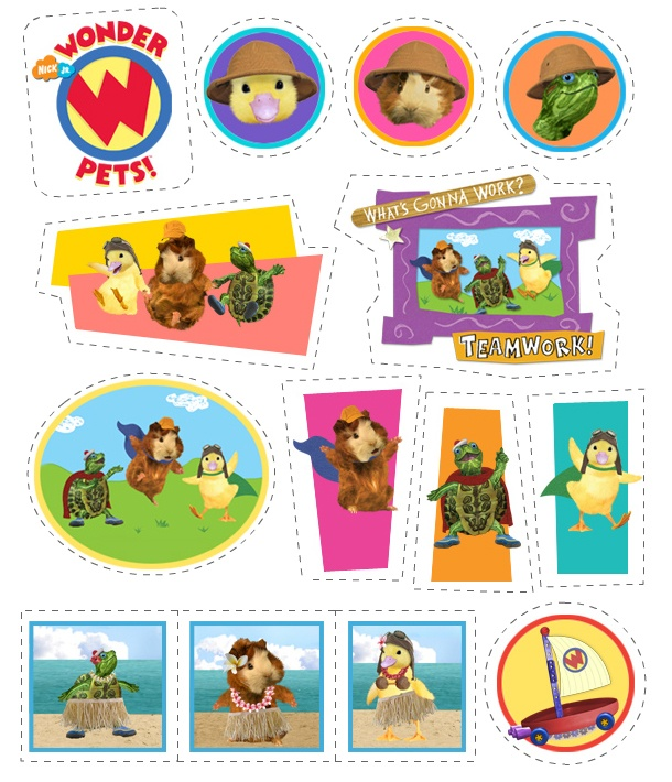 Wonder Pets stickers