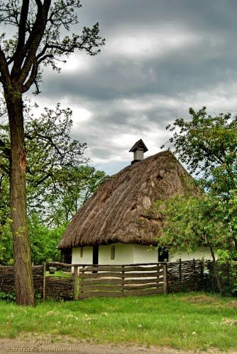 Old farmhouse - Szatmárcseke, HungaryHome Sweets, Old Farmhouses, Beautiful Hungary, Rustic Farmhouse, Hungary Hungary, Thatched Roof, Cottages House, Travel Scenery, Travel Hungary
