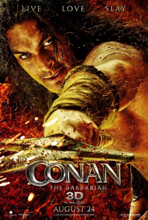 Conan the Barbarian , starring Arnold Schwarzenegger, James Earl Jones, Max von Sydow, Sandahl Bergman. A vengeful barbarian warrior sets off to avenge his tribe and his parents whom were slain by an evil sorcerer and his warriors when he was a boy. #Action #Fantasy #Adventure