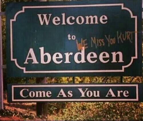 Nirvana   Si todavía está ese letrero me tomaré una foto ahí !!