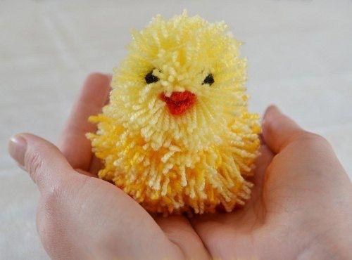 Пасхальный цыпленок - Поделки с детьми | Деткиподелки