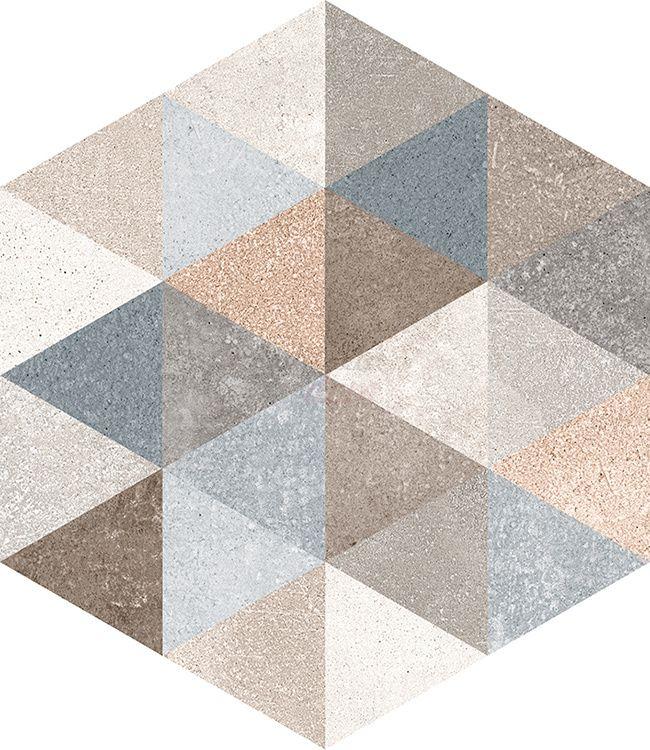 177/m2  Vives - Hexagono Fingal 23x26,6 Planeta dom