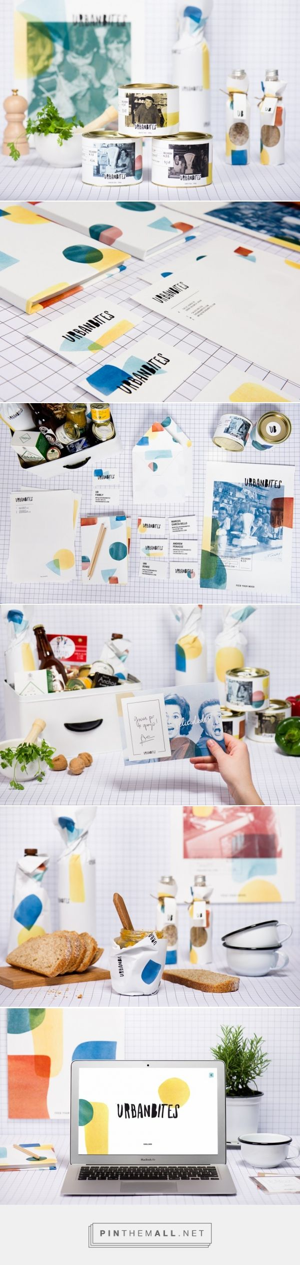 Feed you rmood with Urbanbites, packaging designed by Masquespacio (Spain) - http://www.packagingoftheworld.com/2016/04/urbanbites.html