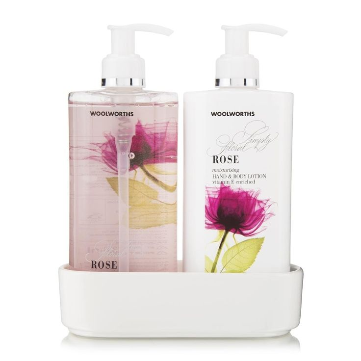 Hand Treatment: Rose, Simply Floral