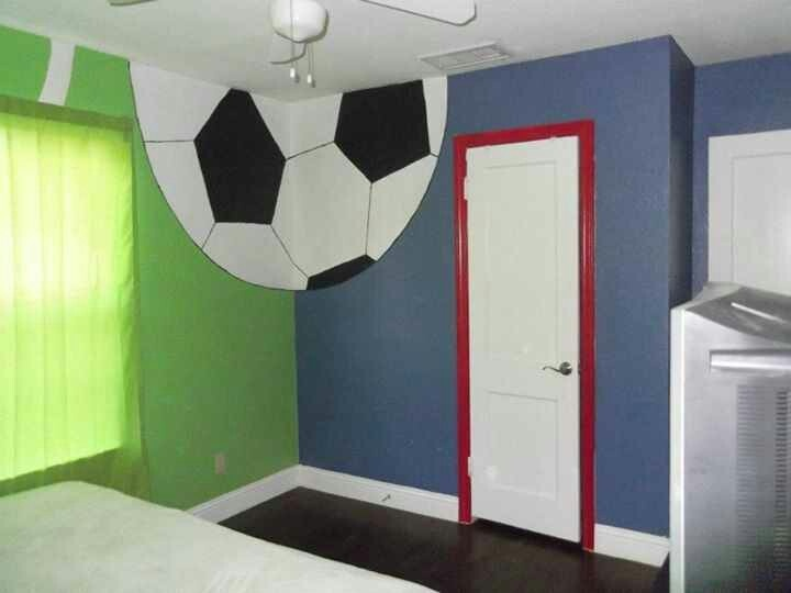 soccer room ideas boys room soccer soccer rooms kids soccer room