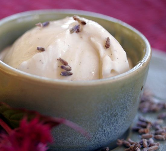 Lemon Verbena and Lavender Ice Cream Recipe