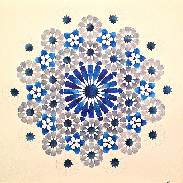 illumination and geometry in islamic art Register through a series of 24-hour sessions, you will learn how to build and design traditional islamic art and illumination (islamic geometric design & arabesque.