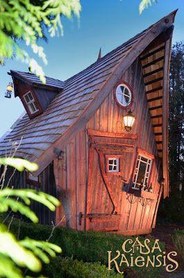 Des maisons féériques chez Casa Kaiensis...