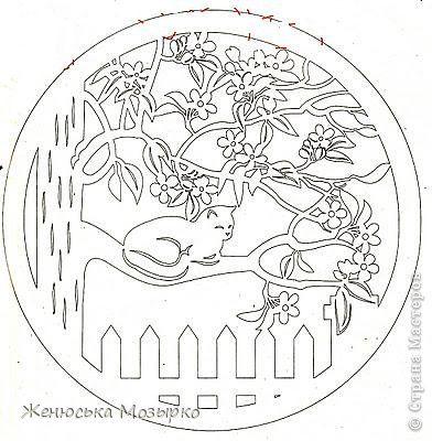 Картина панно рисунок Вырезание Навырезала для деток Бумага фото 9