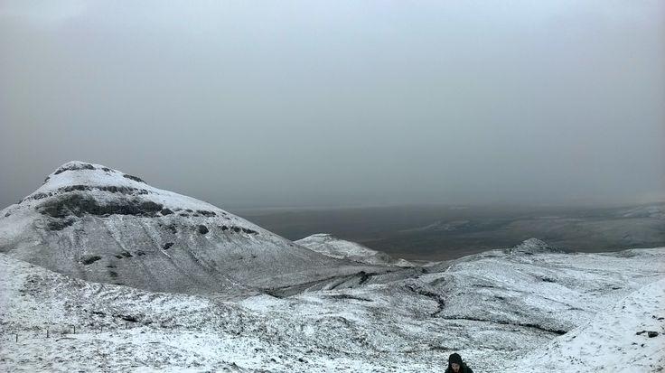 Snow hiking in the Isle of Skye, February 2014