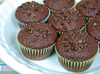 Muffins de Chocolate com Iogurte | Creative