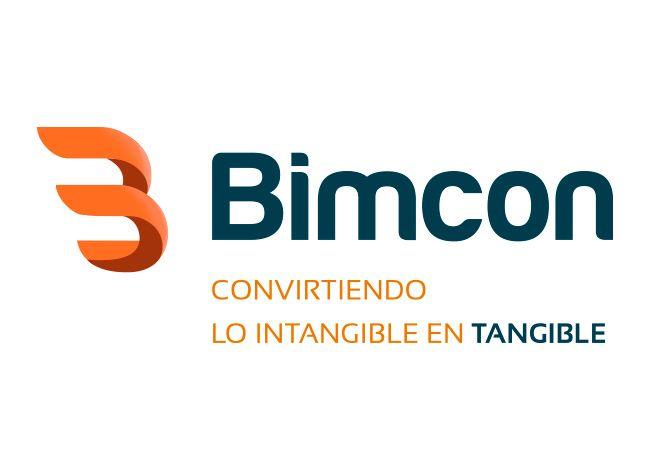 Diseño del logotipo de Bimcon, empresa de consultoría de México realizado por Luisannet Arte y Tecnología http://www.luisan.net/