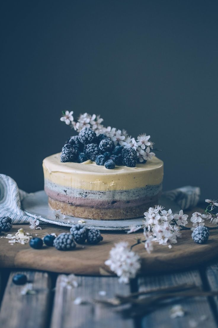 our food stories // gluten free ice-cream cake