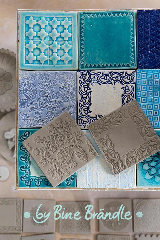 Amazing clay tiles