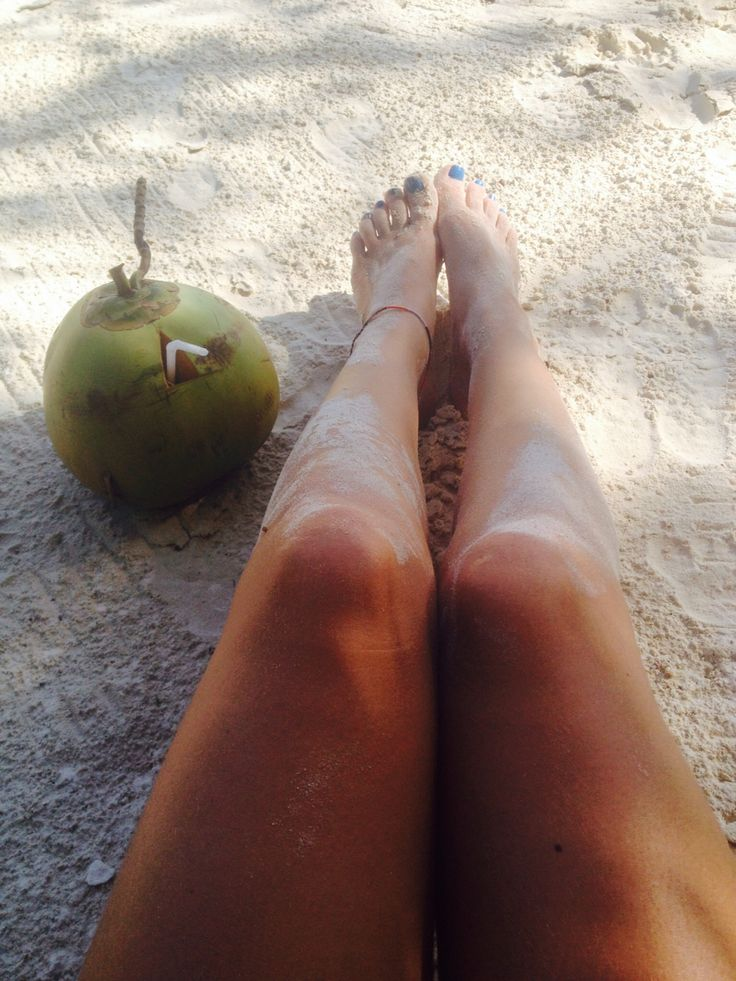 Coconuts and white sand