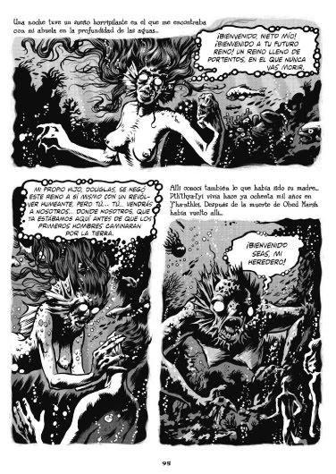 La sombra sobre innsmouth, H. P. Lovecraft. Ilustrado por  Erik Kriek