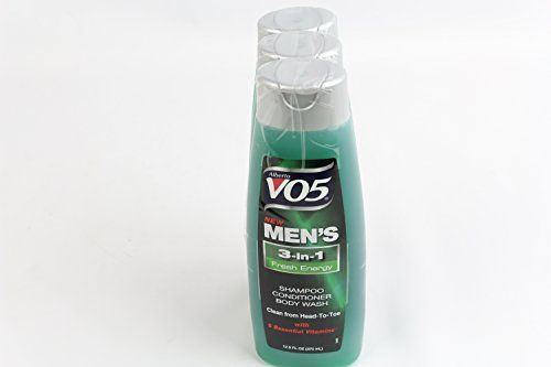 Alberto Vo5 Mens 3-in-1 Shampoo, Conditioner & Body Wash, Fresh Energy 12.5 Fl Oz  //Price: $ & FREE Shipping //     #hair #curles #style #haircare #shampoo #makeup #elixir