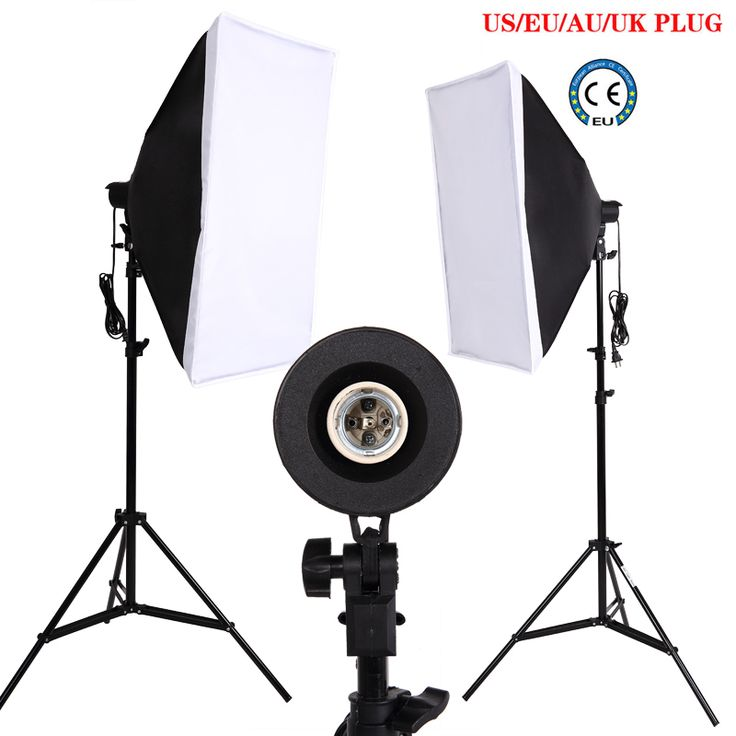 >> Click to Buy << Ukraine Russian Eu Free Shipping Photo studio Softbox Continuous Lighting Box video Photo lighting kit 2 light stand 2LED #Affiliate